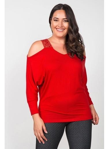 Womenice Bluz Kırmızı